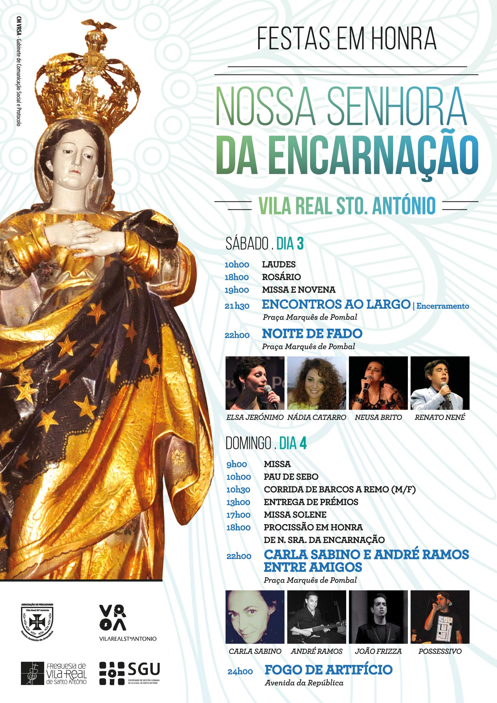 Cartaz_Festa de Nossa Senhora da Encarnação_2016