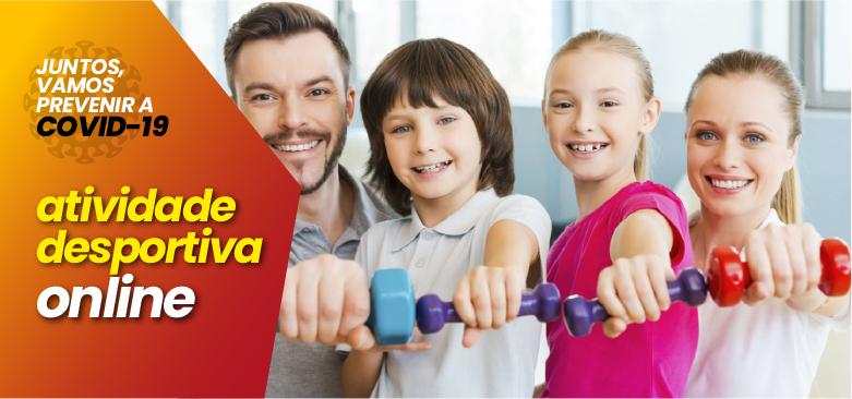 VRSA promove atividade desportiva  em plataformas online