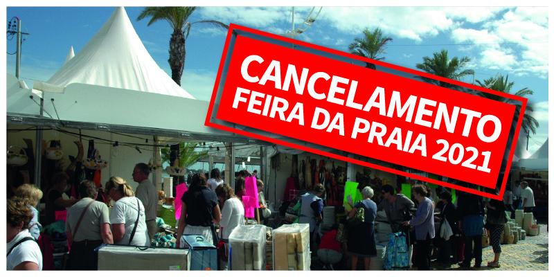Cancelamento da Feira da Praia 2021